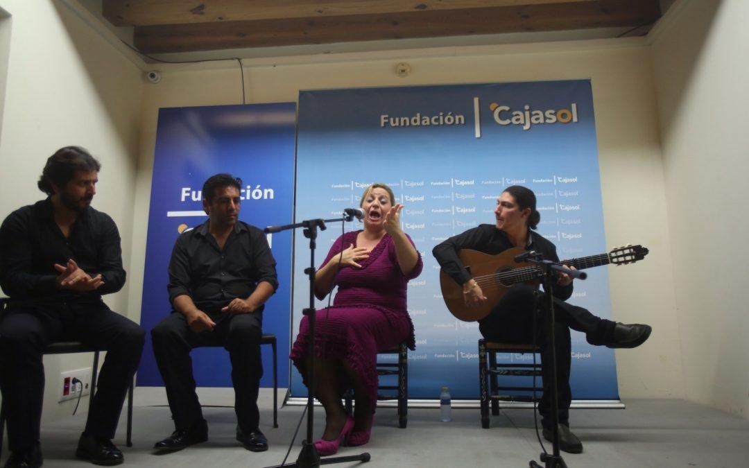 Jornadas de estudio flamenco de la Peña Enrique 'El Mellizo' con Remedios Reyes y José de Pura