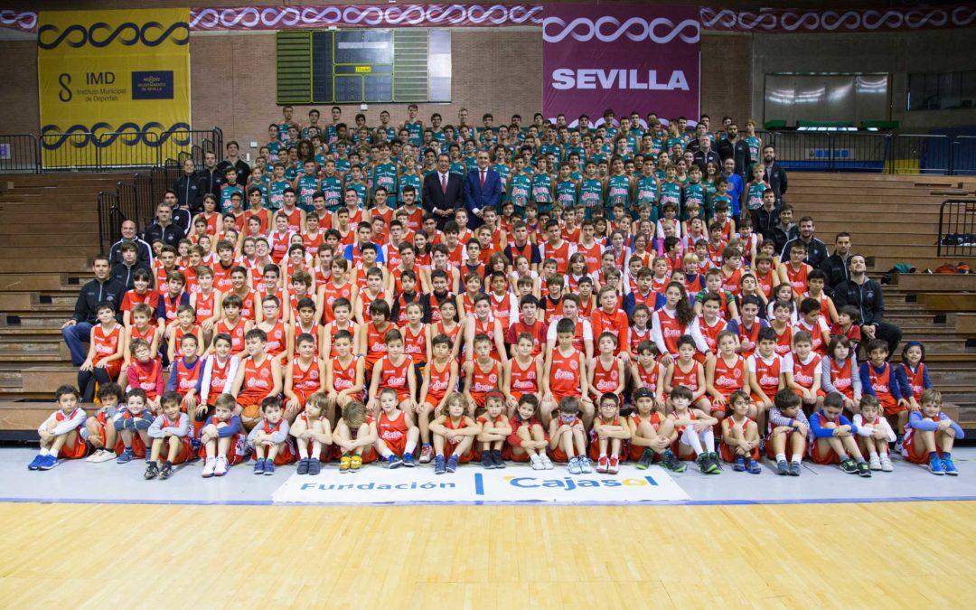 La Fundación Cajasol apadrina a la cantera del Baloncesto Sevilla