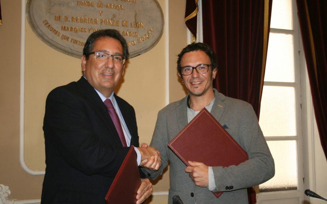 La Fundación Cajasol y el Ayuntamiento de Cádiz renuevan el acuerdo para la promoción y apuesta del Carnaval