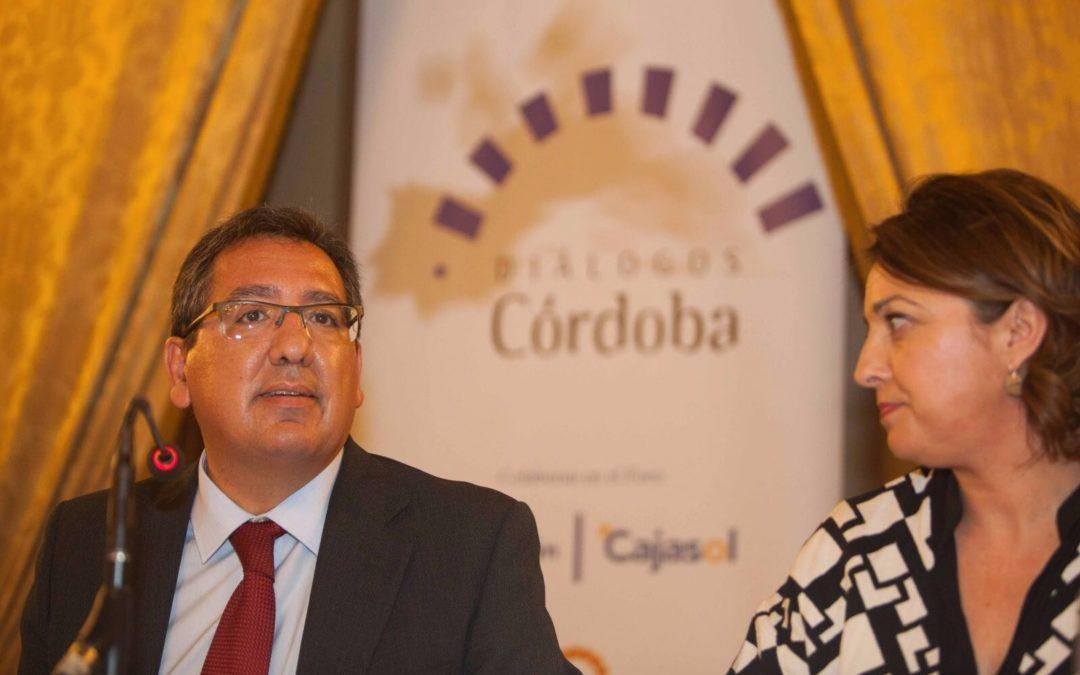 """Antonio Pulido: """"Desde la Fundación Cajasol tendemos la mano para contribuir y fomentar el desarrollo en Córdoba"""""""