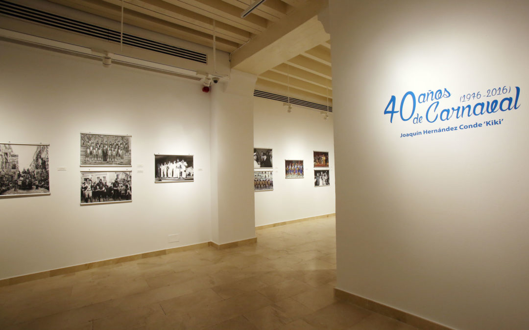 La Fundación Cajasol inaugura la exposición '40 años de Carnaval', de Joaquín Hernández Conde 'Kiki'