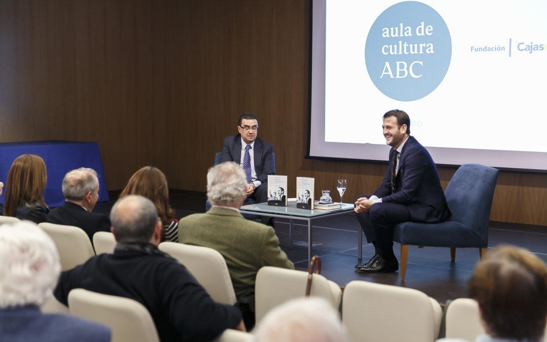 Juan Fernández-Miranda presenta su biografía de Torcuato Fernández-Miranda en la Fundación Cajasol