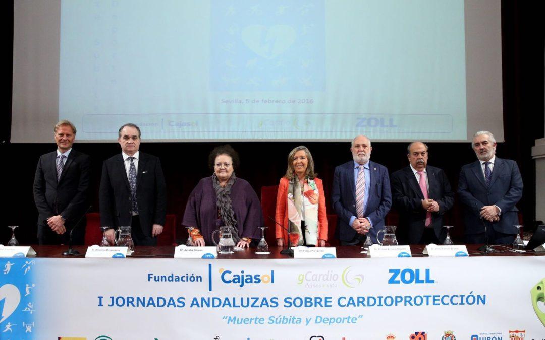 La Fundación Cajasol acoge las I Jornadas Andaluzas sobre Cardioprotección