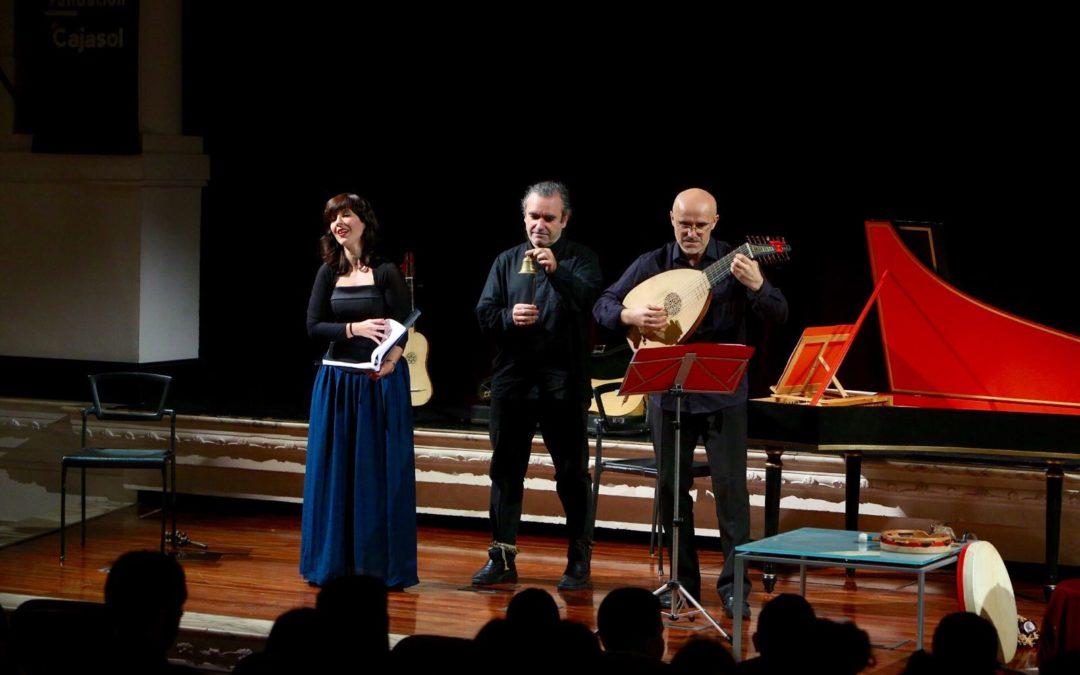 Concierto didáctico sobre 'La música del Renacimiento' en la Fundación Cajasol