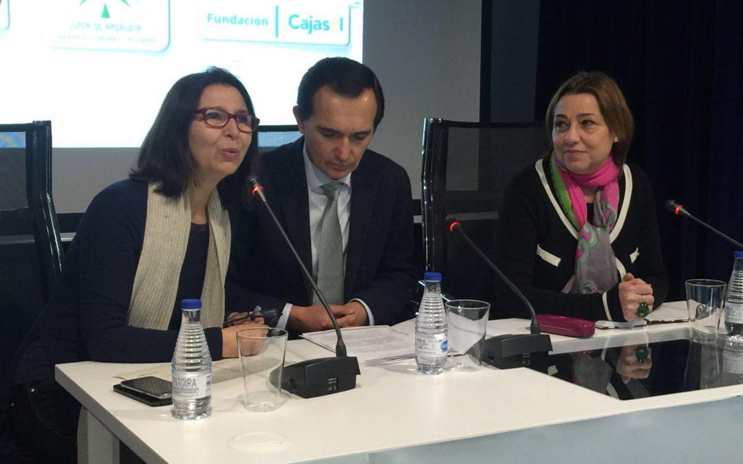 'Hablemos de responsabilidad' en la sede de la Fundación Cajasol en Huelva
