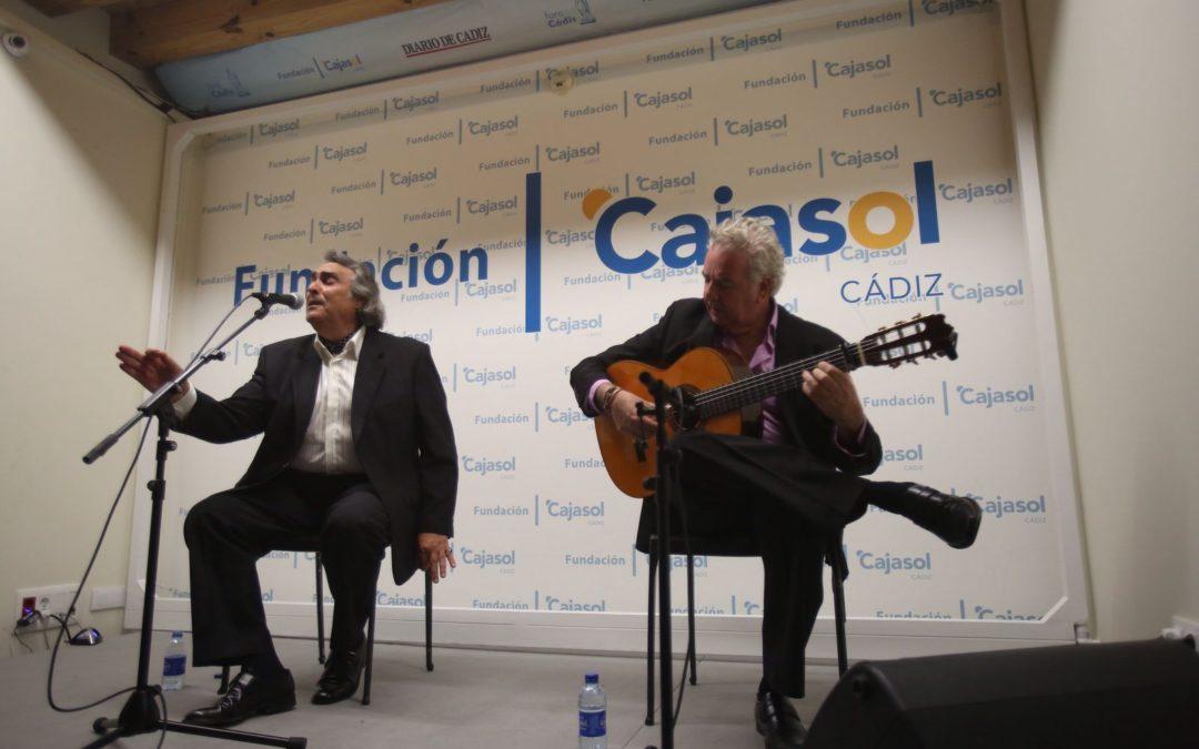 José de la Tomasa abre el nuevo ciclo 'Conocer el Flamenco' de la Fundación Cajasol en Cádiz