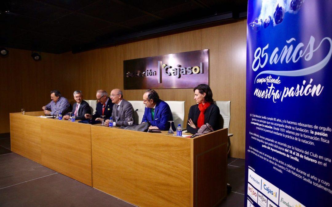 Mesas redondas en el 85º aniversario del Club Natación Sevilla