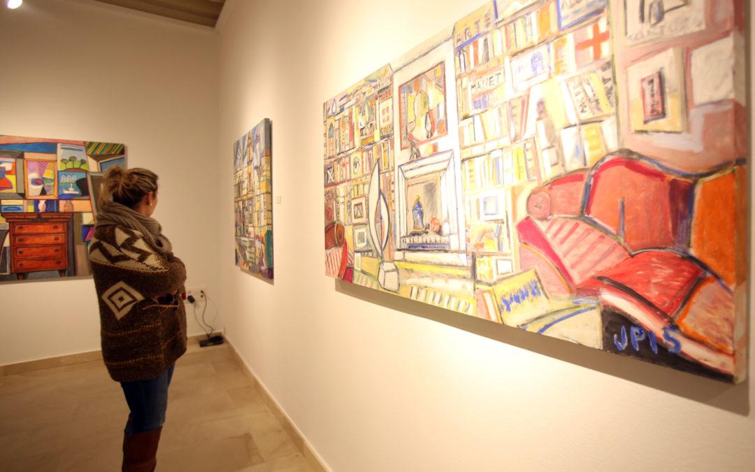 'El Color' llega a la sede de la Fundación Cajasol en Cádiz de la mano del pintor José Manuel Paredes