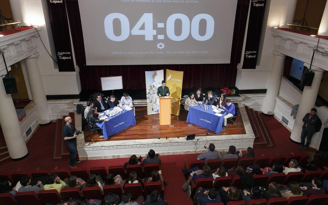 VII Torneo de Debate 'Jóvenes Promesas' en la Fundación Cajasol