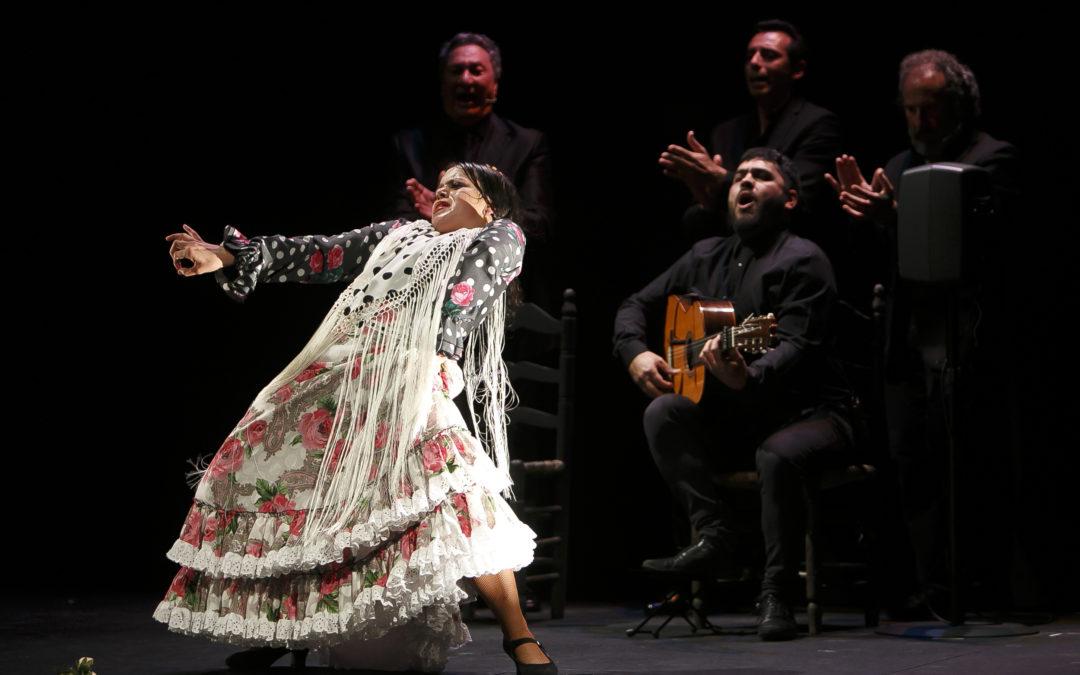 María Moreno transmite sus sentimientos al público con el espectáculo 'Alas de recuerdo' en los Jueves Flamencos