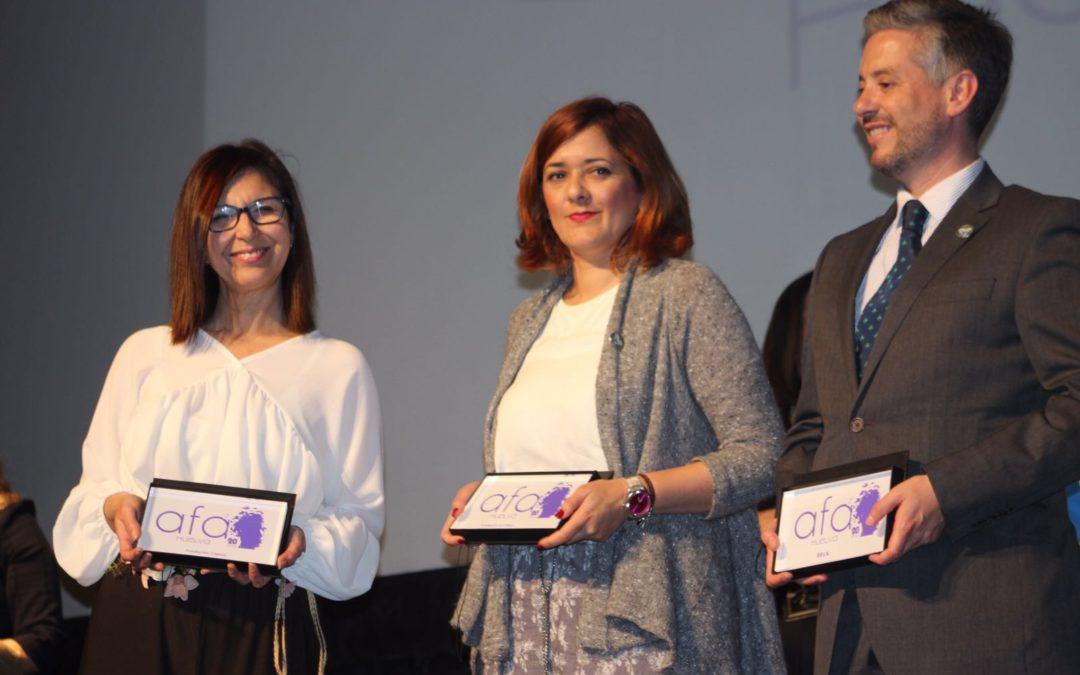 AFA-Huelva reconoce la colaboración de la Fundación Cajasol en la gala de celebración de su 20º Aniversario