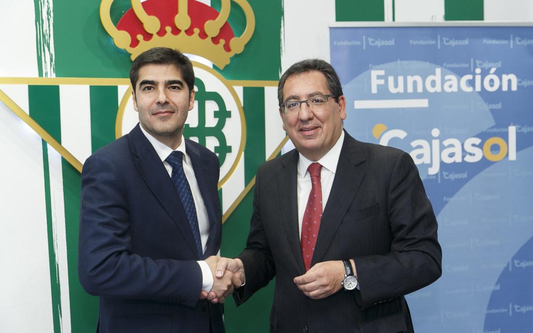 El Real Betis y la Fundación Cajasol renuevan su convenio de colaboración