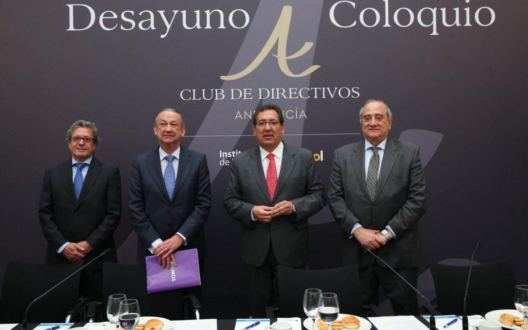 El Consejero Delegado del Grupo Wamos, protagonista en el Club de Directivos Andalucía
