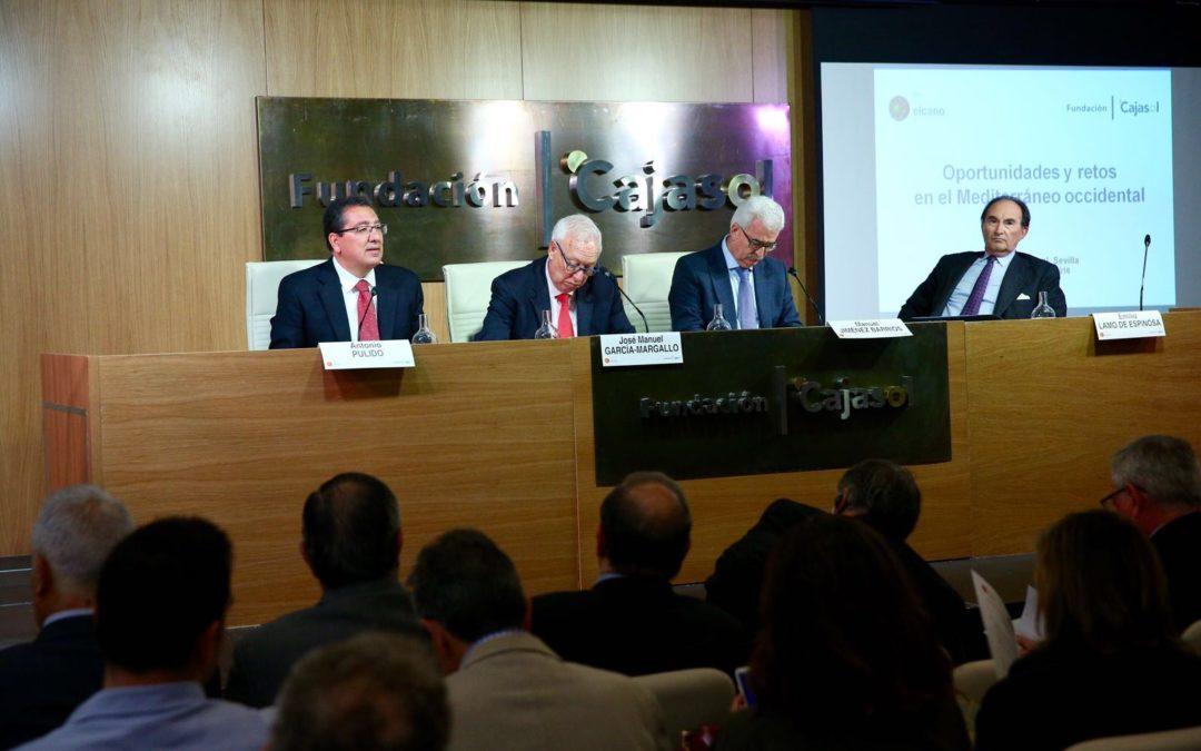 La Fundación Cajasol acoge el seminario 'Oportunidades y retos en el Mediterráneo Occidental'