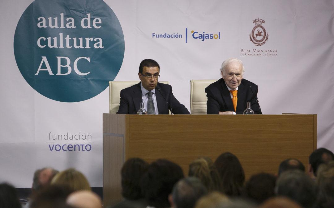 Leopoldo Abadía en el Aula de Cultura de ABC de Sevilla