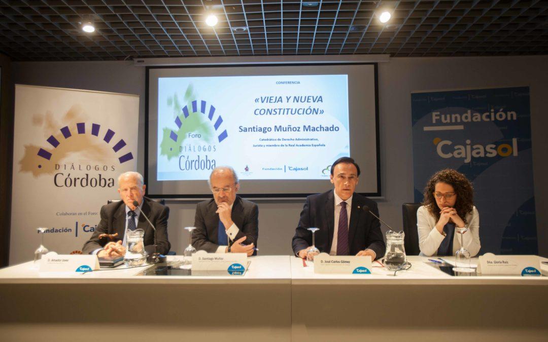 Conferencia de Santiago Muñoz Machado en la sede de Córdoba de la Fundación Cajasol