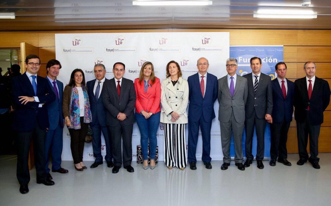 La Fundación Cajasol respalda la III Feria de Emprendimiento de la Facultad de Ciencias Económicas y Empresariales de la Universidad de Sevilla