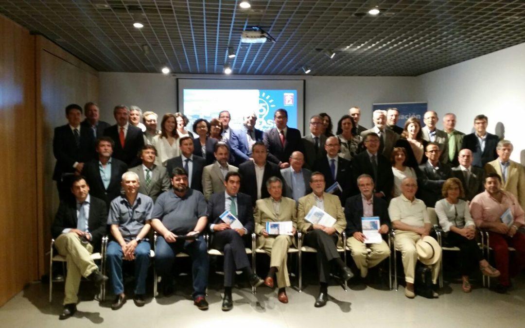 """Antonio Pulido, en la presentación del Foro '75 ideas para Córdoba': """"Se complementa a la perfección con la razón de ser de la Fundación Cajasol"""""""