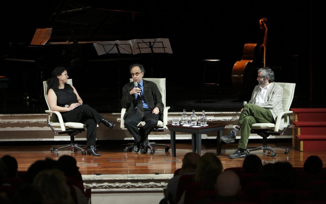 Exquisita charla entre Benet Casablancas y Antonio Muñoz Molina en el XI Ciclo de Música Contemporánea de los Conservatorios