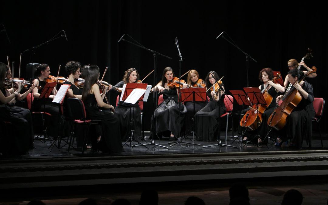 'Cita con las Músicas' de la Orquesta de Cámara de Mujeres Almaclara-Inés Rosales en la Fundación Cajasol