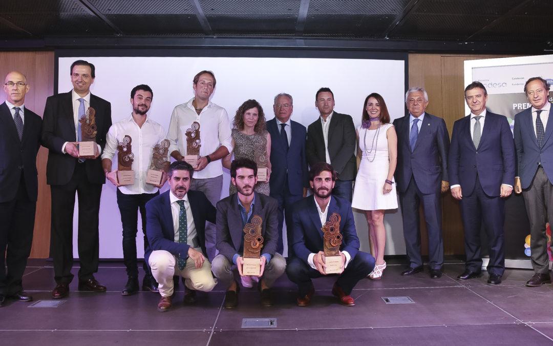 Entrega de los Premios Web 2016 de ABC de Sevilla en la Fundación Cajasol