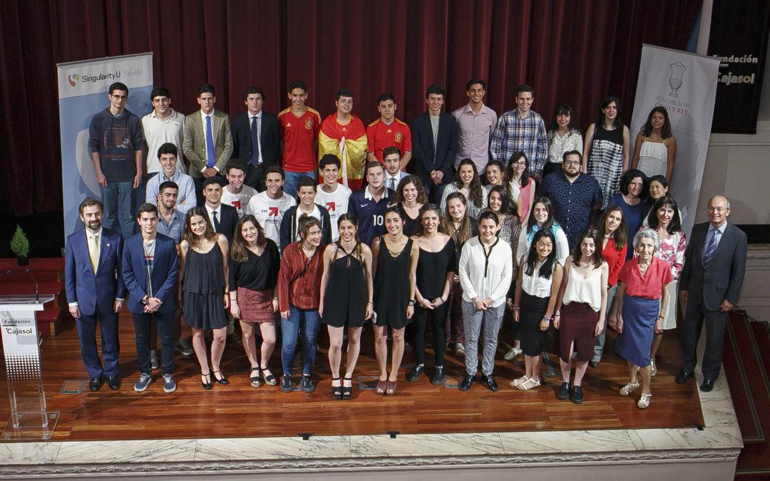 Presentación de los proyectos de Exponential Entrepreneurship Programme en la Fundación Cajasol