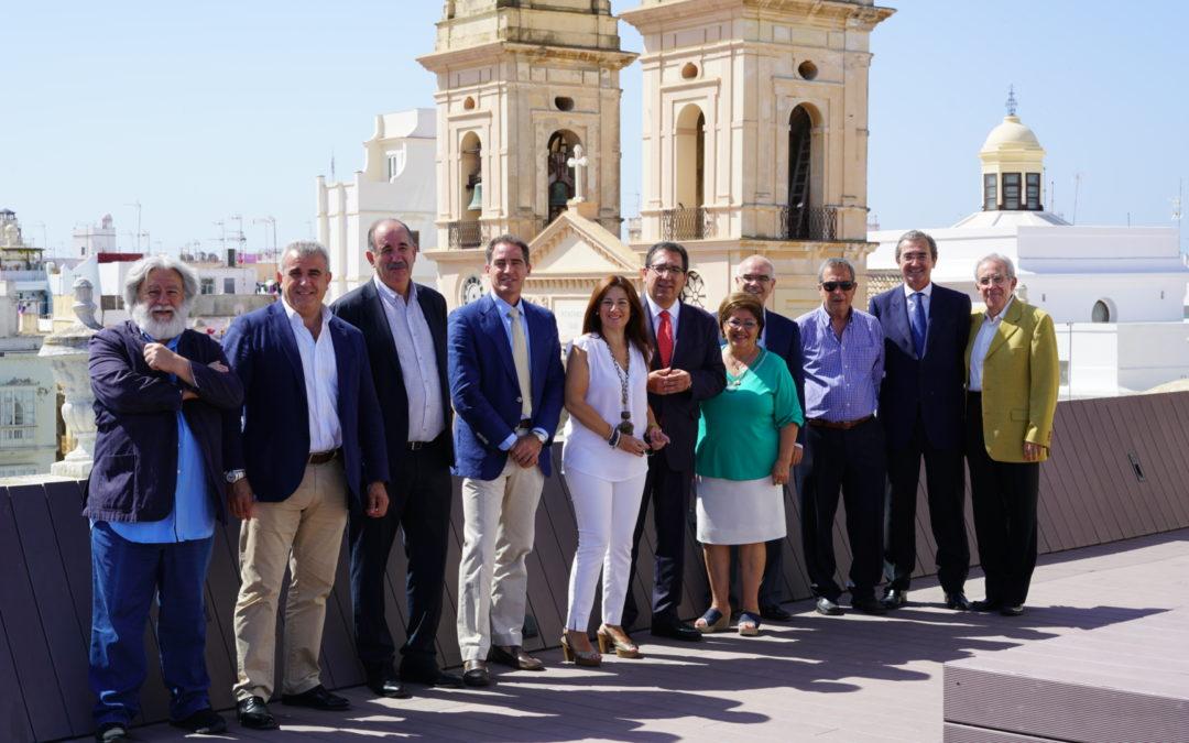 El patronato de la Fundación Cajasol se reúne por primera vez en Cádiz