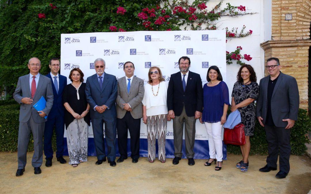 Inauguración de XIV edición de los Cursos de Verano de la Universidad Pablo de Olavide en Carmona
