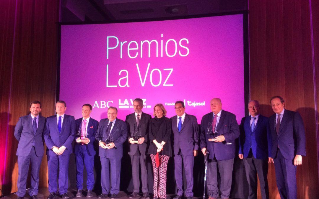 Antonio Pulido asiste a la entrega de los Premios LA VOZ 2016