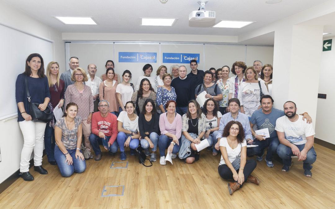 El Programa de Voluntariado de la Fundación Cajasol alcanza los 400 voluntarios