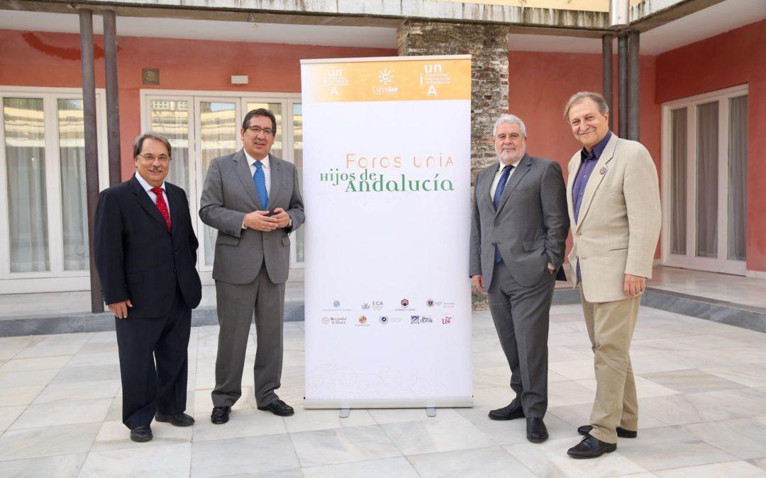 La Fundación Cajasol participa en el proyecto 'Foros UNIA-Hijos de Andalucía'
