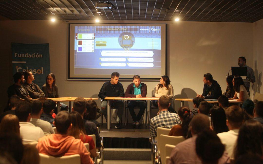 El taller de Educación Financiera de la Fundación Cajasol llega a los escolares cordobeses