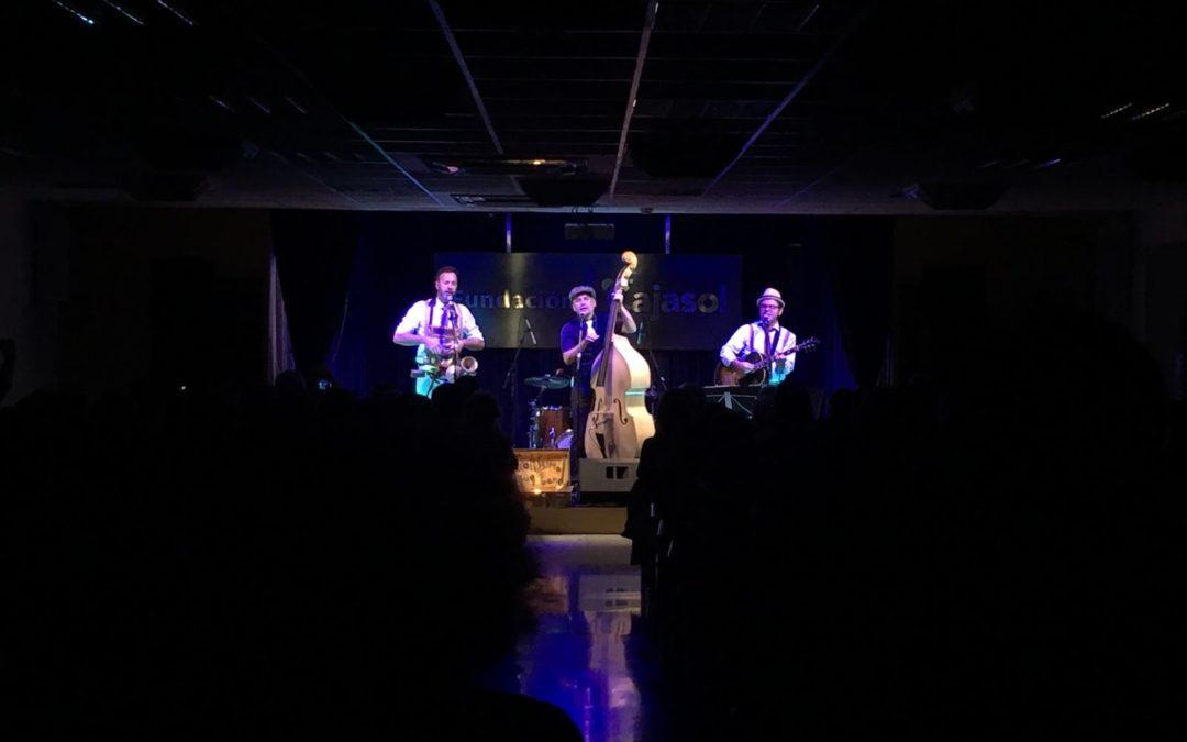 Picolissima Jug Band inauguró el ciclo 'Jazz en la Cuarta' de la Fundación Cajasol en Huelva