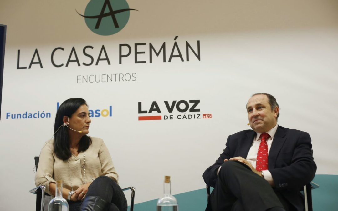 'Encuentros de la Casa Pemán' con Fernando Alberca en la Fundación Cajasol