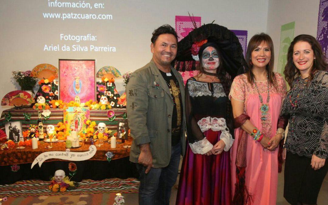 Exposición 'A Ellos', con motivo del Día de los Muertos en México, en la sede cordobesa de la Fundación Cajasol