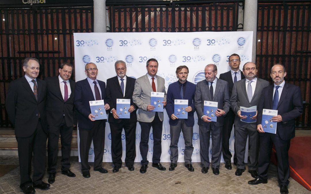 ASA Andalucía celebra su XXX Aniversario en la Fundación Cajasol