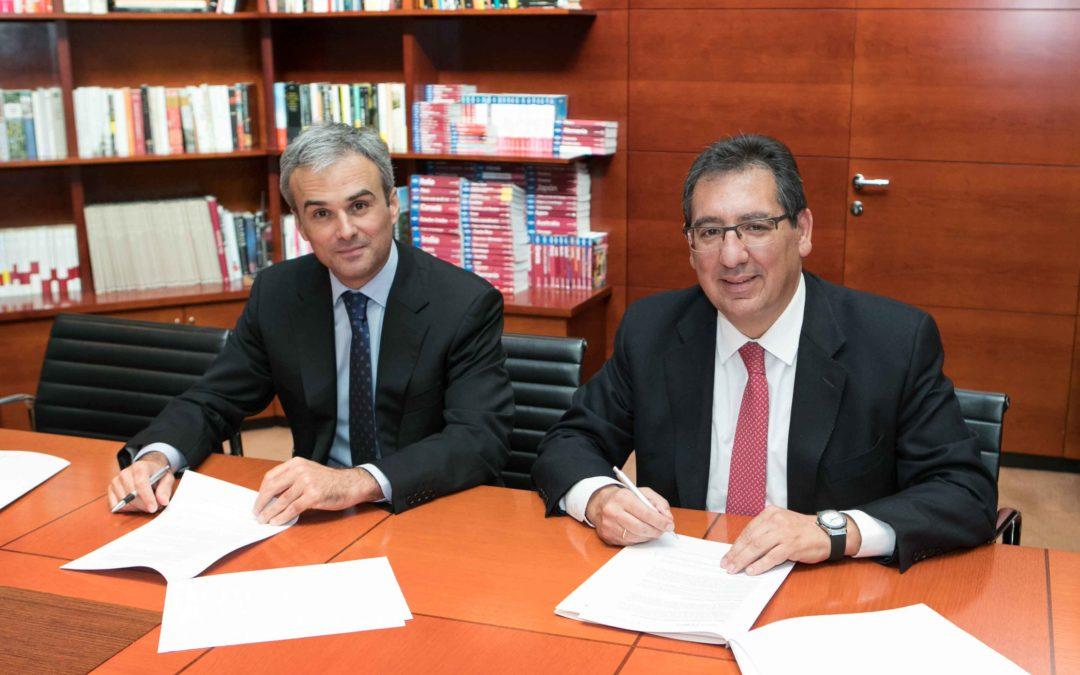 Fundación Cajasol y Fundación José Manuel Lara, unidas para el desarrollo de actividades culturales