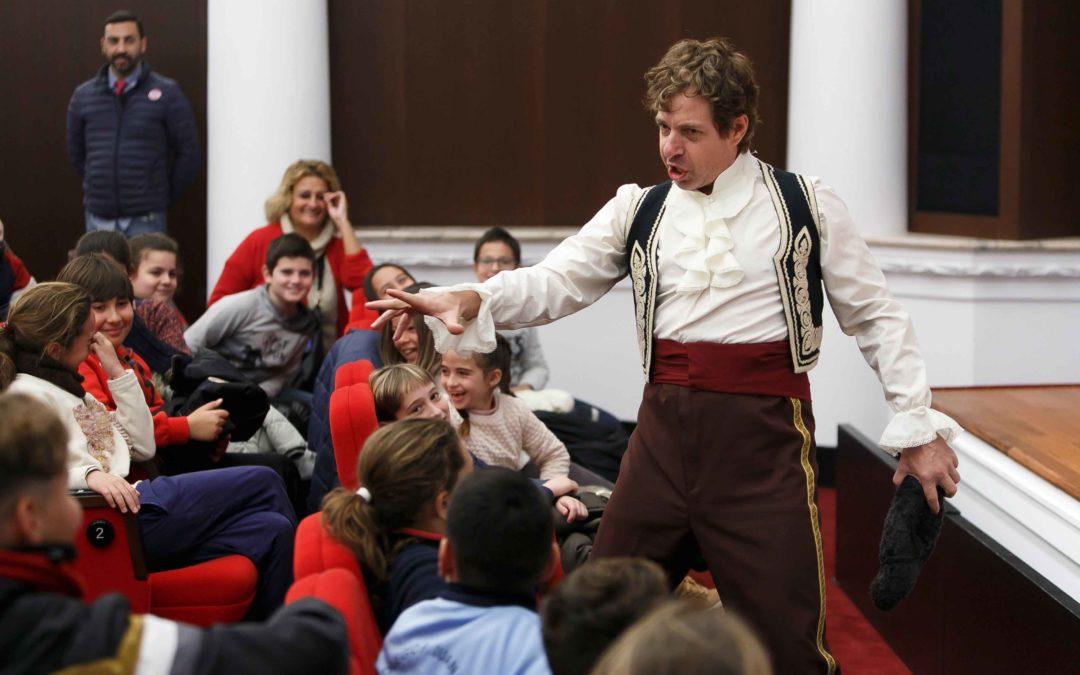 La ópera, protagonista para los más pequeños en la última semana de enero en la Fundación Cajasol