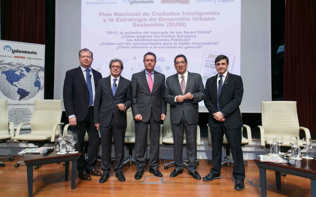 La eclosión del mercado de las Smart Cities en 2017, a debate en la Fundación Cajasol