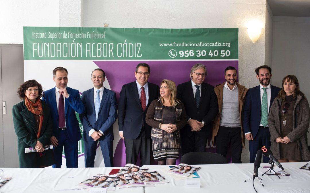 La Fundación Albor presenta el proyecto del Instituto de Formación Profesional Sanitaria con el apoyo de la Fundación Cajasol y el Ayuntamiento de Jerez