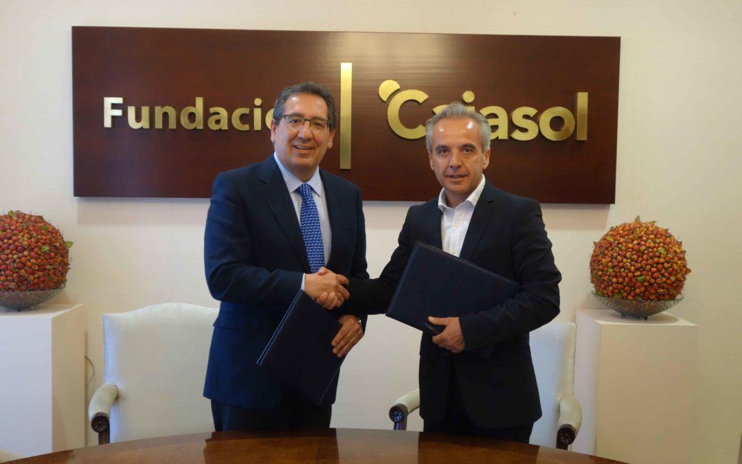 La Fundación Cajasol colabora con la IX Feria del Queso Artesano de Villaluenga del Rosario