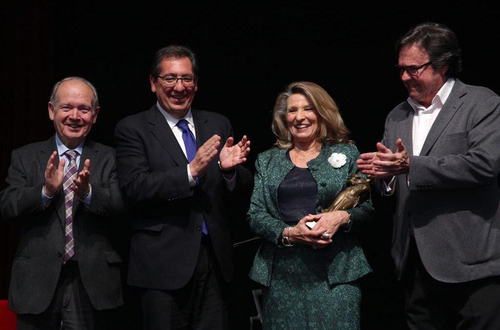 Homenaje a Cristina Heeren en los Jueves Flamencos de la Fundación Cajasol