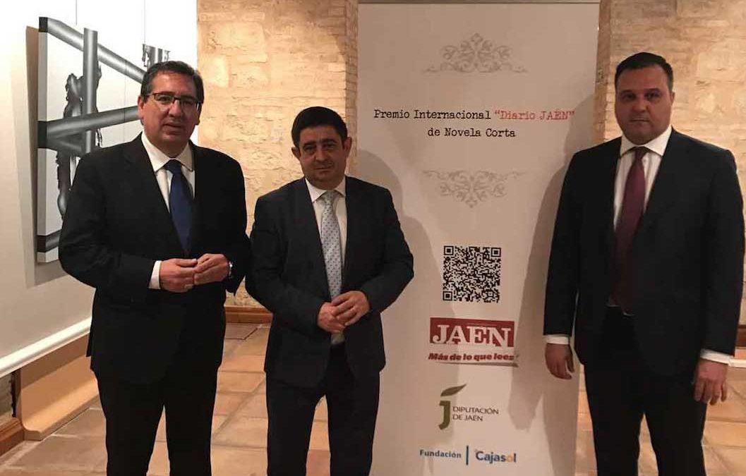 La Fundación Cajasol colabora con el II Premio Internacional de Novela Corta 'Diario Jaén'