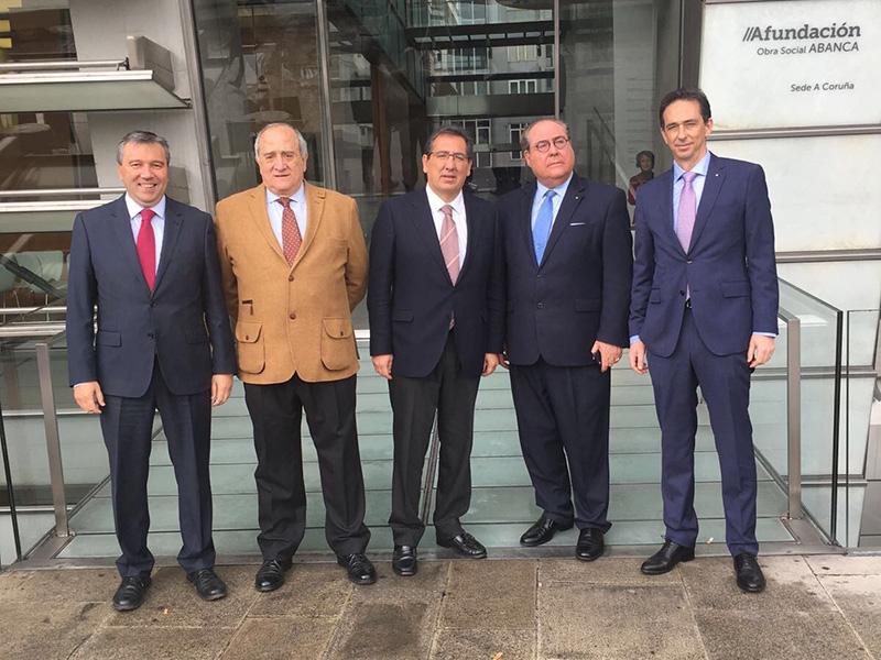 La Fundación Cajasol y AFundación estrechan lazos para llevar a cabo iniciativas formativas y culturales