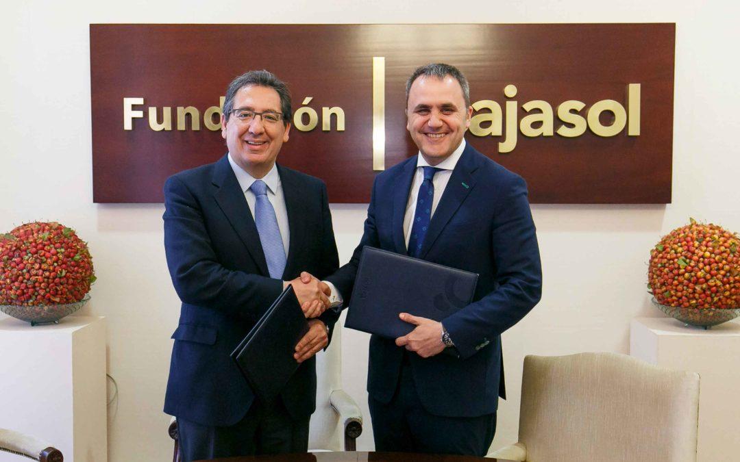 La Fundación Cajasol y la Fundación ARO mantienen su compromiso para desarrollar el baloncesto de cantera