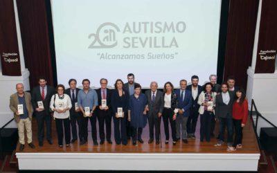 Acto conmemorativo del XX Aniversario del Centro Integral de Recursos de Autismo Sevilla en la Fundación Cajasol