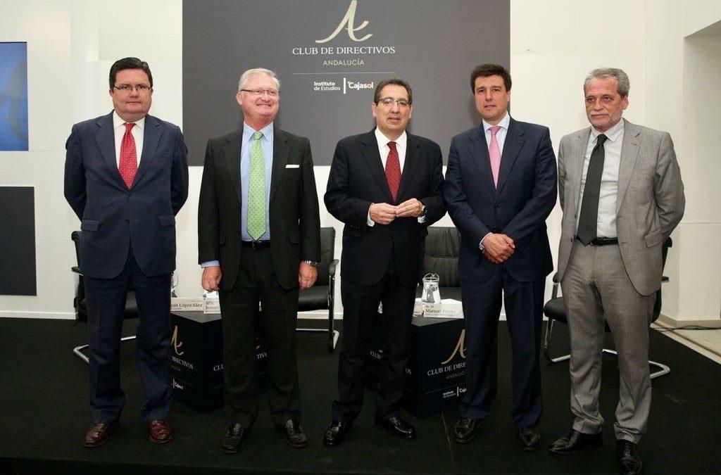 El Club de Directivos Andalucía sigue su curso con el Consejero Delegado de Merlin Properties, Ismael Clemente Orrego