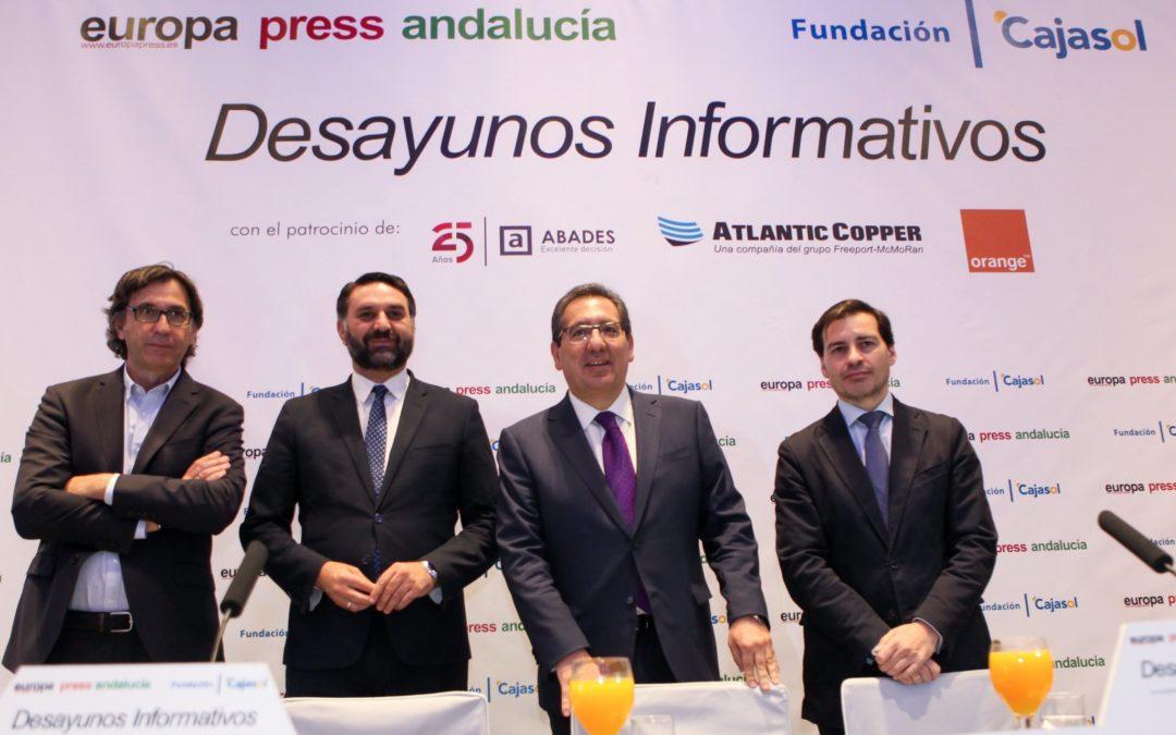 """Antonio Pulido: """"Nos encontramos en un momento absolutamente brillante para el sector turístico andaluz"""""""