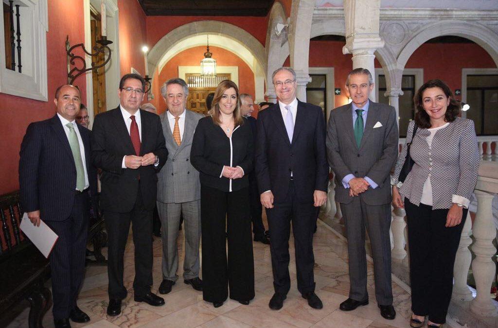 Desayunos Informativos de Europa Press Andalucía con Juan Pablo Durán, presentado por Susana Díaz
