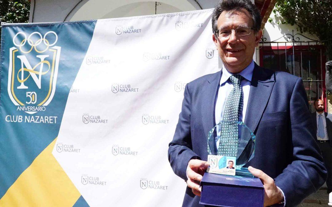 El Club Nazaret cumple 50 años de vida con el apoyo de la Fundación Cajasol